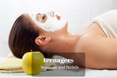 Teenagers and Massage