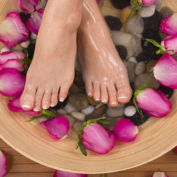 Rose Petal Foot Soak