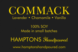 Commack Handpoured Candle